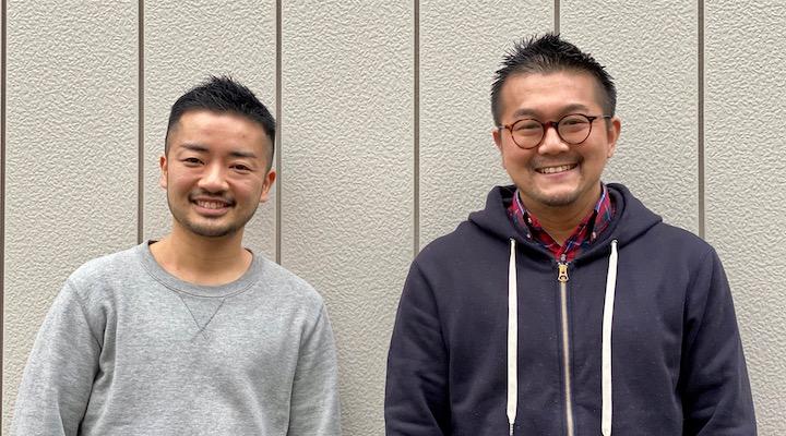杉山 文野 (左)・松中 権 (右)