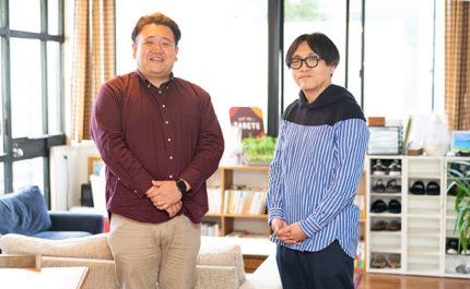 廃棄問題といえば「フードロス」に限ったこと、なんてない。 - 川越 一磨さん(左)・ 篠島 浩平(右)