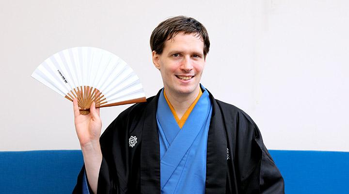 三遊亭好青年(ヨハン・ニルソン・ビョルク)