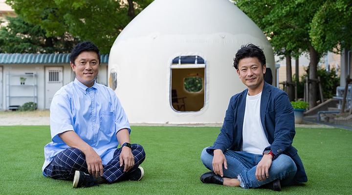 北川啓介(左)・小池克典(右)